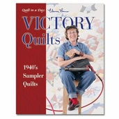 Victory Quilts 1940s Sampler Quilts from Quilt in a Day Books by Eleanor Burns
