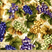 Vineyard Collection Cotton Fabric - Grape AHV-13623-18