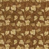 Vineyard Cotton Fabric Collection - Brown