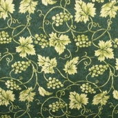 Vineyard Cotton Fabric Collection - Green
