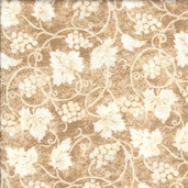 Vineyard Cotton Fabric Collection - Ivory