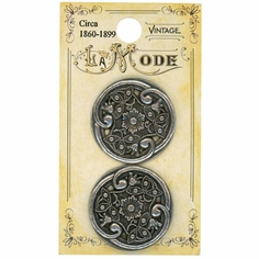 Vintage-Inspired Buttons