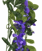 Violet Blue Wisteria 6 foot garland - Clearance