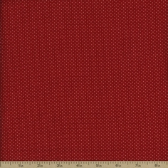 VIP Tiny Dots Cotton Fabric - Red