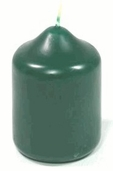 Votive Candle English Ivy Scented Green Pkg of 6
