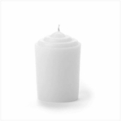 Votive Candles Gardenia Scented White - Pkg or 12