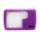 Wallet Magnifier - Lighted Purple