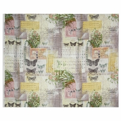 Wallflower Botanical Cotton Fabric - Multi