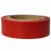 Washi Masking Tape 3pk - Red