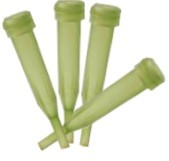 Water Tube Picks Pkg of 24 - Green