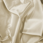 Wedding Fabric Barcelona Stretch Satin - Antique White