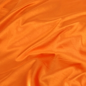 Wedding Fabric Barcelona Stretch Satin - Orange