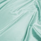 Wedding Fabric Barcelona Stretch Satin - Seafoam