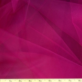 Wedding Fabric Fine Tulle Full Bolt 40yd - 54in. - Garnet