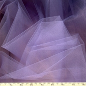 Wedding Fabric Fine Tulle Full Bolt 40yd - 54in. - Lace Lilac