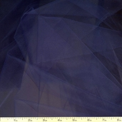 Wedding Fabric Fine Tulle Full Bolt 40yd - 54in. - Navy