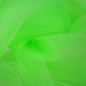 Wedding Fabric Fine Tulle Full Bolt 40yd - Apple Green