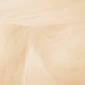 Wedding Fabric Fine Tulle Full Bolt 40yd - Beige