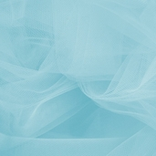 Wedding Fabric Fine Tulle Full Bolt 40yd - Light Blue