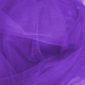 Wedding Fabric Fine Tulle Full Bolt 40yd - Purple