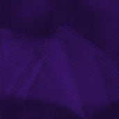 Wedding Fabric Nylon Netting Full Bolt 40 yd - Purple