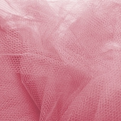 Wedding Fabric Nylon Netting Full Bolt 40 yd - Rose Pink