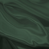 Wedding Fabric Sweetheart Satin - Hunter Green