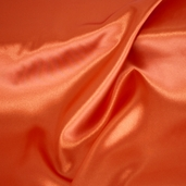Wedding Fabric Sweetheart Satin - Orange