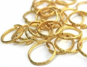 Wedding Rings - Gold - 6 Pack Bundle