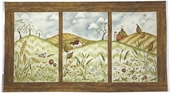 Weeds and Tweeds Cotton Fabric - Pastoral Panel - Multi Color 21992-MUL1