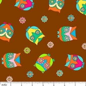 What a Hoot! Cotton Fabric