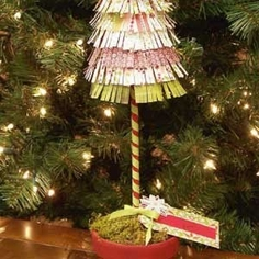 Whimsical Paper Tree