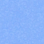 Whimsyland Cotton Fabric - Blue - CLEARANCE