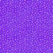 Whimsyland Cotton Fabric - Purple
