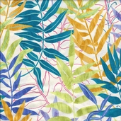 Whispering Woods Cotton Fabric - Jewel