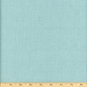 Wickerweave Cotton Fabric - Light Turquoise