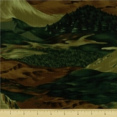 Wild Horses Cotton Fabric - 8307-6