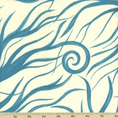 Wildwood Cotton Fabric - Roots - Blue 1404006-3 - Clearance