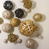 Willow Decorative Natural Balls