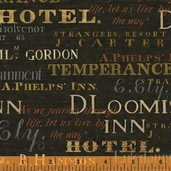 Windham Fabrics Collection: Tavern Signs - 30877-4 - CLEARANCE