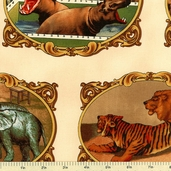 Windham Fabrics Shelburne Circus - Animals