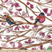 Wing Song Cotton Fabric