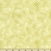 Winsome Polka Dot Cotton Fabric - Green
