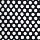 Winter Fleece Prints - Black and White Dot