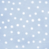 Winter Fleece Prints - Blue Dots