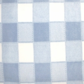 Winter Fleece Prints - Blue Plaid
