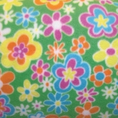 Winter Fleece Prints - Multi Flowers