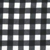 Winter Fleece Prints - Northwoods Buffalo Plaid - Ivory