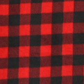 Winter Fleece Prints - Northwoods Buffalo Plaid - Red