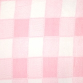 Winter Fleece Prints - Pink Plaid